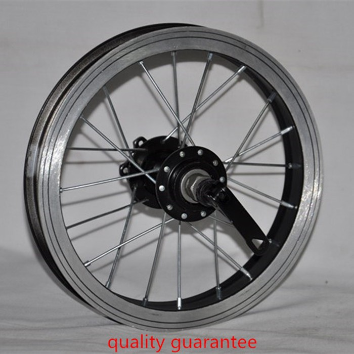 12 inch steel spoke rim for bicycle