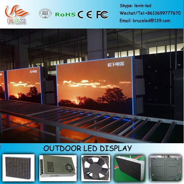 RGX electronic board led xxx video/videos x china P6 LED display