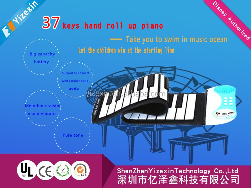 2016 hot sell Musical instrument 88 keys roll up piano with products patent and 3C CE ROHS certification