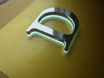 Mirror Polished Hot Selling Back-lit LED Logo sign