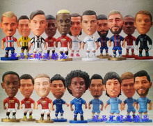 PVC Soccer Doll Football Basketball Star Dolls toy Figurine
