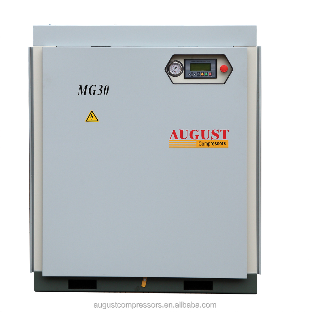 MG30C 30KW/40HP 13 BAR AUGUST stationary air cooled screw air compressor Best Bargain Offer