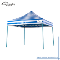 3X3M 10X10' Hot Sale Waterproof Canopy Gazebo Aluminum Big Hexagon Popup Canopy Portable Exhibition Event Marquee Folding Tent
