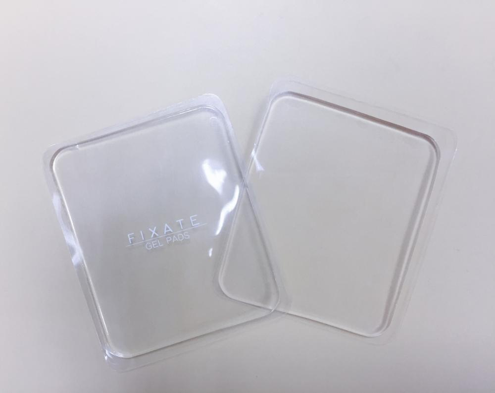 Shenzhen factory direct selling transparent square super sticky anti slip pad