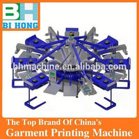 High quality full automatic t shirt screen printing machine
