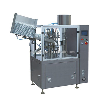 NF-60A Fully Automatic Plastic and Aluminum Tube Filling and Sealing Machine