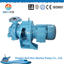 Horizontal closed-coupled ballast water pumps cooling water pump