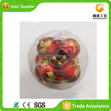 Jinhua Yiwu Manufacturing Wholesale Plastic Ball Christmas Ornaments
