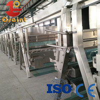 High efficicency chicken plucker butcher line slaughtering line 008615054189085