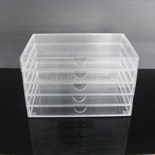 wholesale popular acrylic makeup organizer with drawers
