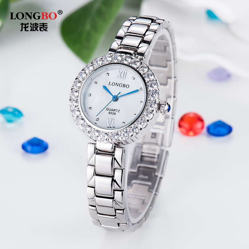 2017 New Stylish Fashionable Jewelry Fancy Ladies Quartz Stainless Steel Online Shopping Watch Women