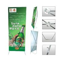 Kinds of design Aluminum U Type X Banner
