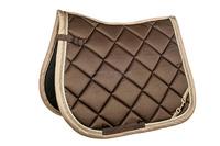 Luxury satin horse saddle pad, OEM is available