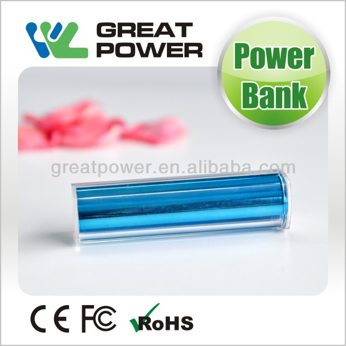 2014 newest factory directly selling fashion power bank 2600mah for smartphone