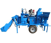 M7MI TWIN easy control diesel interlocking soil cement brick machine price in kenya