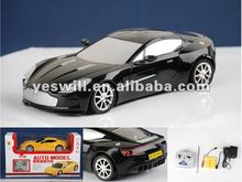 1:16 scale Aston Martin model car rc car with led light