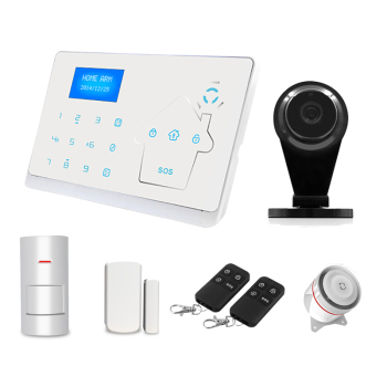Wireless Smart Home GSM+PSTN Alarm System for Home Security and Home Alarm