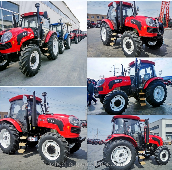 Factory produce 35hp 50hp 4wd mini tractor, cheap farm tractor,wheel tractor,agricultural tractor for sale
