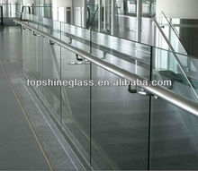 clear tempered glass deck panel with AN/NZS 2208:1996, BS6206, EN12150