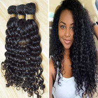 Mona hair company 100% remy human hair virgin unprocessed extensions tangle free burmese curly hair