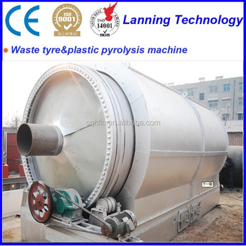 HOT sale!!! Waste Tyre Recycling Machine to fuel oil with Superior quality and Eco friendly design