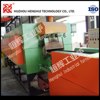 OEM price Continuous mesh belt sintering furnace with protect atmosphere