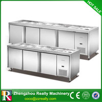Used stainless steel 304 door refrigerator in China 320L