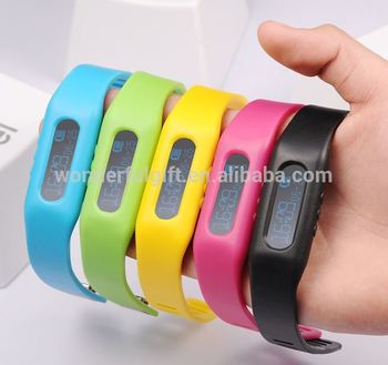 Colorful Smart Bracelet Bluetooth Fitness Activity Tracker Band