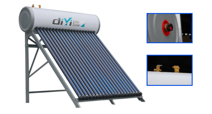 2015 Newest Hot Selling High Pressure Solar Water Heaters For Turkey