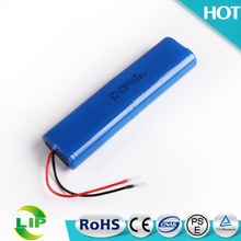 3.7V 18650 battery bulk 4P circular rechargeable 8000mah li-ion lithium battery pack