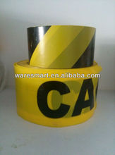 logo yellow black custom caution tape