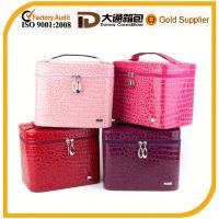 hot women waterproof style cosmetic bag makeup case