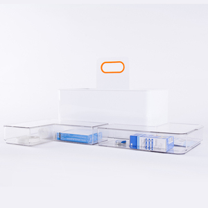 China Supply Plastic clear multi-functional storage box organizer