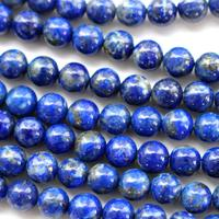 Natural Color Genuine Blue Lapis Lazuli Real Gemstone Loose Beads for Necklace Jewelry Making