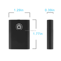 Kinlan bluetooth transmitter BTR1001 tv transmitters 3.5mm jack wireless audio receiver 2-in-1