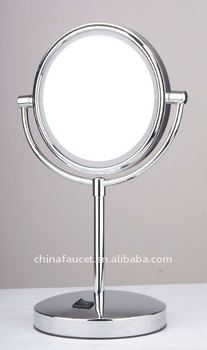 Battery Operated Led Mirrors Bathroom Mirror Table Mirror M 3608 Buy Led Mirrors Bathroom