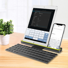 Hot sale high quality folding bluetooth keyboard available for PC, computer and smart phones