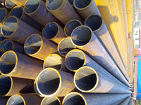 Seamless carbon steel pipe BS 3601 cement lined steel pipe made in china