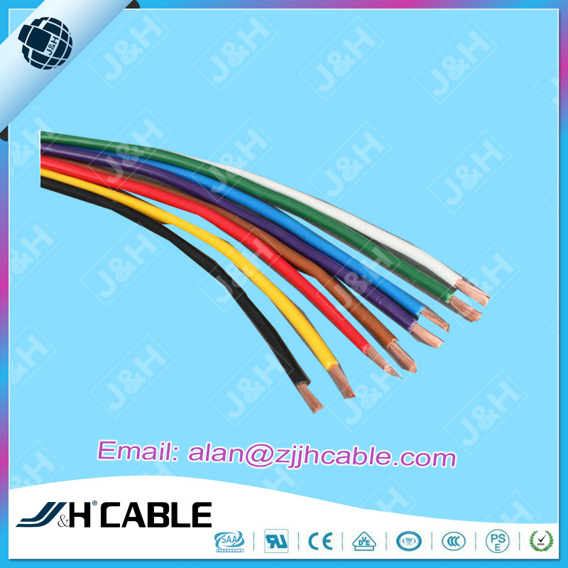 PSE Standard Heat Resistance PVC Insulation Wire VSF