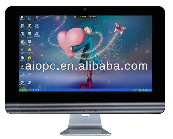 18.5 Inch HD LED Touch Screen All-in-One PC TV