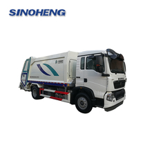 Good quality dimensions china garbage truck