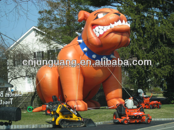2017 advertising event inflatable bulldog