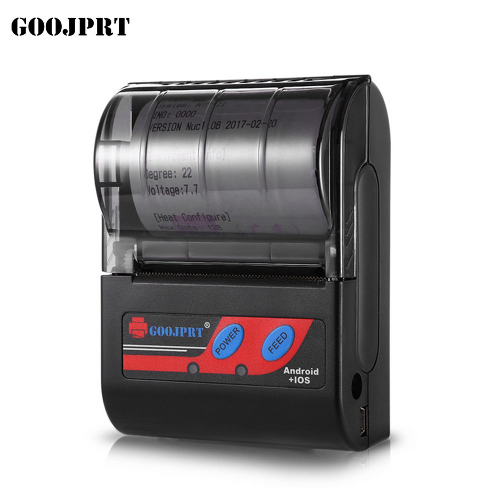 58MM Android Compatible Portable Bluetooth Printer