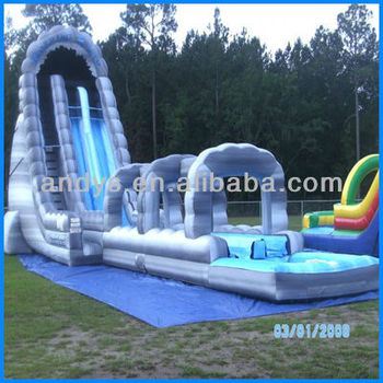 rental inflatable water slide