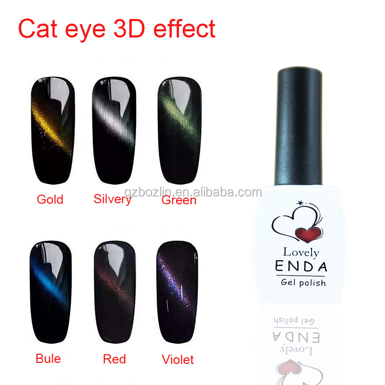 Magic Cat Eye 3d Gel Nail Polish - Buy Gel Nail Polish,Cat Eye Gel ...