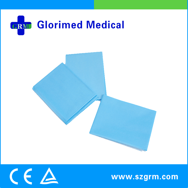 Two-Layered Sterile PE Film Air Laid Paper Sanitary Towel For Tur Pack ( Urology Set )