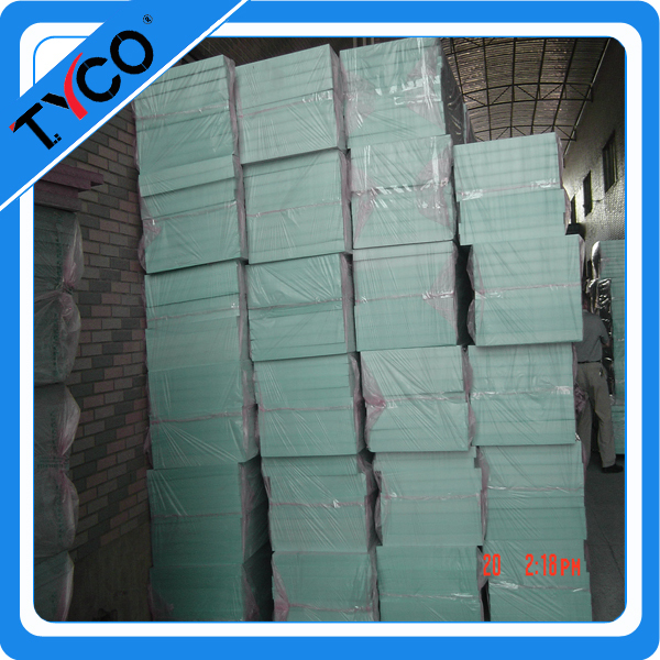construction materials wood thermal insulation grooved xps pipe insulation board