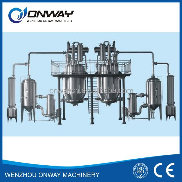 RFE energy saving factory price Hot Reflux Solvent Herbal evaporator Extraction Equipment pharmaceutical machinery