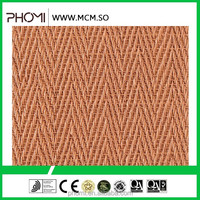Antibacterial Flexible double roman roof tiles clay