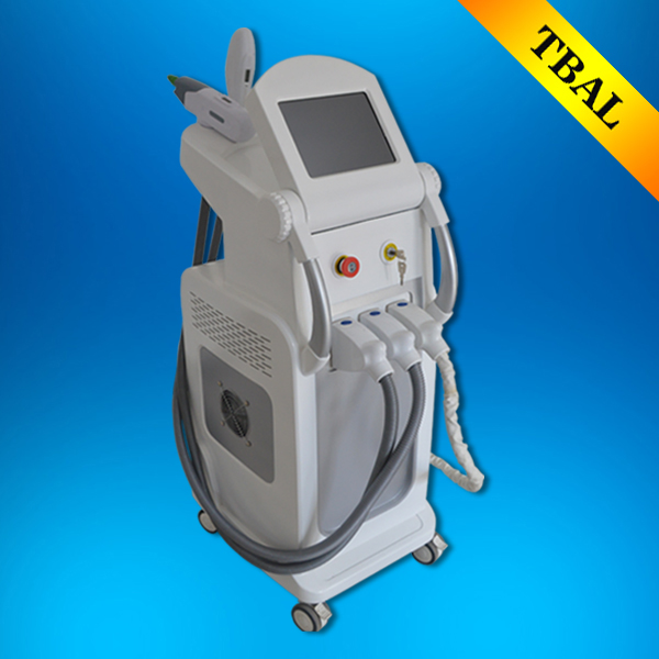 Skin energy activation instrument /Beauty salon equipment /Multi-Function combined machine SHR IPL+RF+ND yag laser